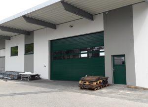 2017 Neubau Lagerhalle